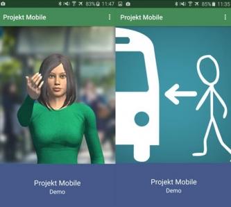 Beispiele Virtuelle Begleitung Foto: Hochschule Rhein-Waal/Projekt Mobile