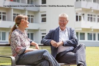 Carola Heimann im Gespräch mit Dr. Seidler