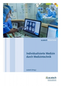 Cover der acatech Position zur Individualisierten Medizintechnik acatech