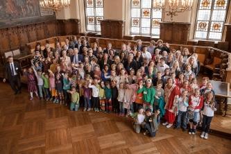 Mitwirkende und Preisträger des Jakob Muth-Preises 2015 (Fotograf: Kay Michalak)