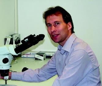 Prof. Dr. Tim Gollisch, Klinik für Augenheilkunde der Universitätsmedizin Göttingen (UMG). Foto: privat