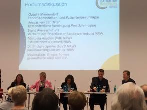 Patientenbeteiligung Tagung in Bochum - Foto: CIV NRW