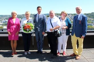 Verleihung des Bundesverdienstkreuzes an Ricarda Wagner