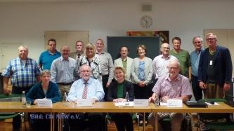 Der Beirat in der 1. Sitzung in Essen