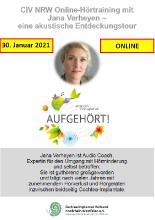 CIV NRW Online-Hörtraining mit  Jana Verheyen
